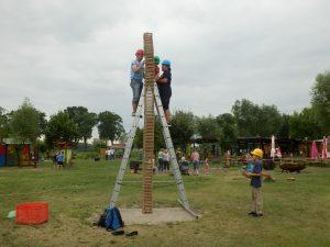 Arichtekten beim Turmbau